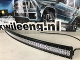 Gebogen LEDBAR 312W 12V Cree LEDS, Curved LED BAR 312W 12V Cree LEDS_