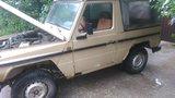 300GD cabrio voor restauratie_7