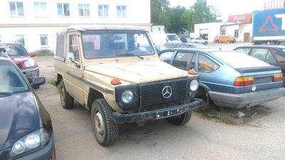 300GD cabrio voor restauratie