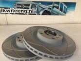 Remschijf vooras G55AMG, set van twee schijven  Breakdisk front axle G55AMG set of two disks
